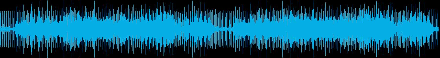 ベースリフが印象的、クールなBGMの再生済みの波形
