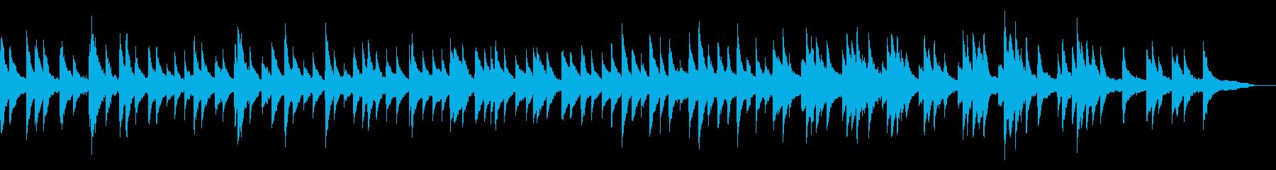 映像・ナレーション用ピアノ演奏(無邪気)の再生済みの波形