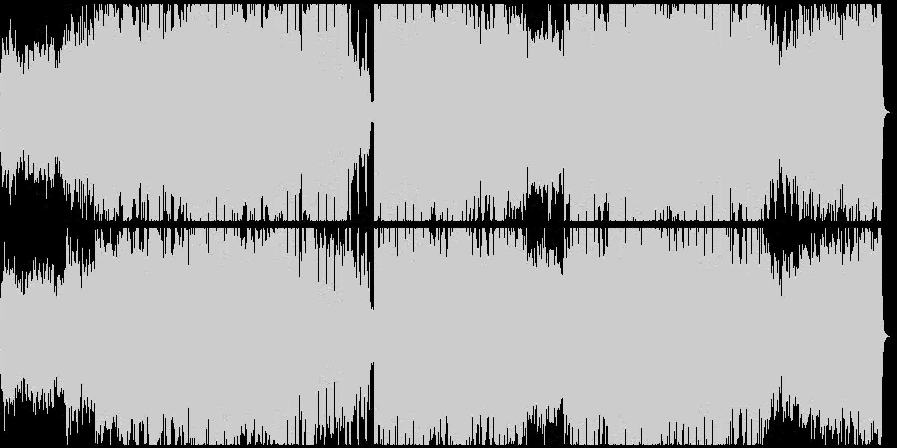 和風な楽器を用いたBGMの未再生の波形