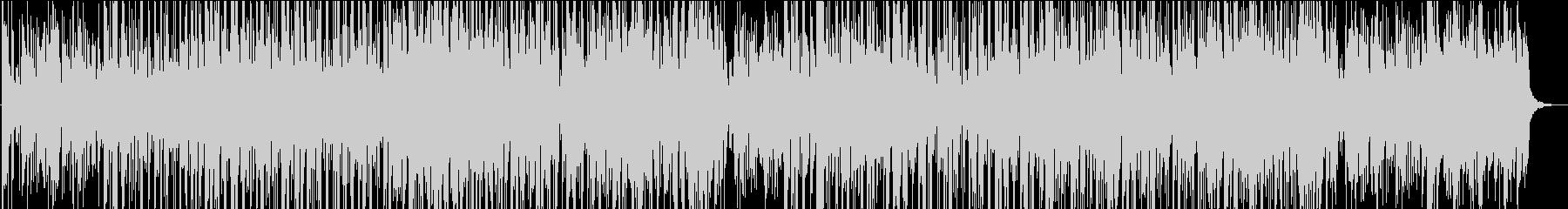 スムースジャズとモダンなチルアウトの未再生の波形