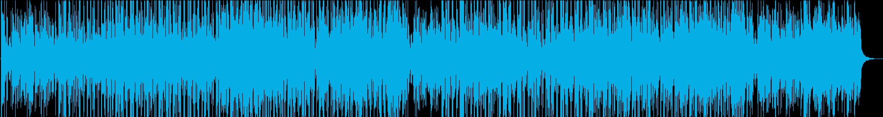 スムースジャズとモダンなチルアウトの再生済みの波形