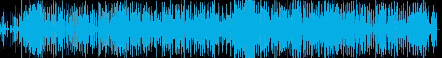 キャッチーなFuture Bassの再生済みの波形