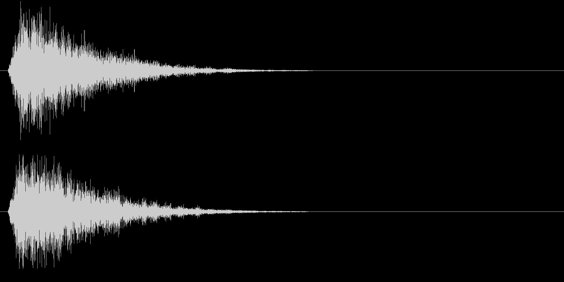 フォン②(決定音・システム音・魔法発動)の未再生の波形