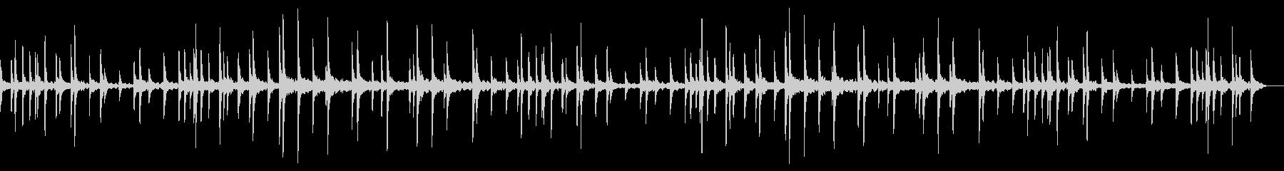 切ない雰囲気が広がるピアノサウンドの未再生の波形