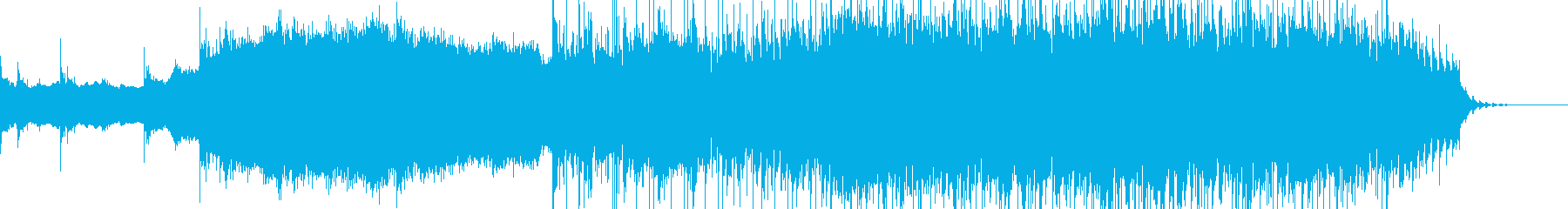 ノイズシンセにギターのエレピのメロディの再生済みの波形