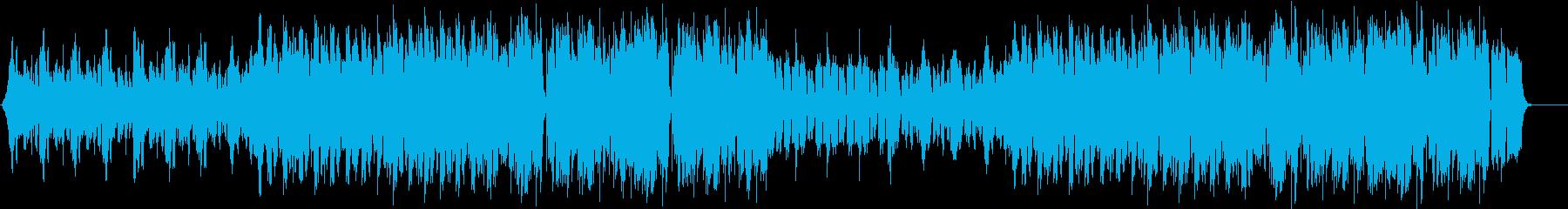ウォールオブデス・モッシュ/EDMフェスの再生済みの波形