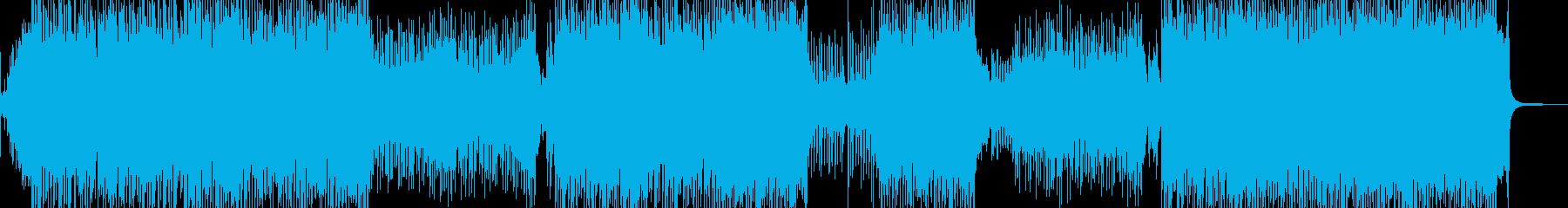 琴・三味線・全速力な演歌調ロック 長尺の再生済みの波形
