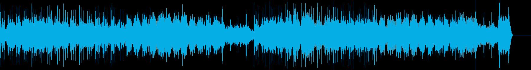 神秘的な感触の流れる催眠ハイテクグ...の再生済みの波形