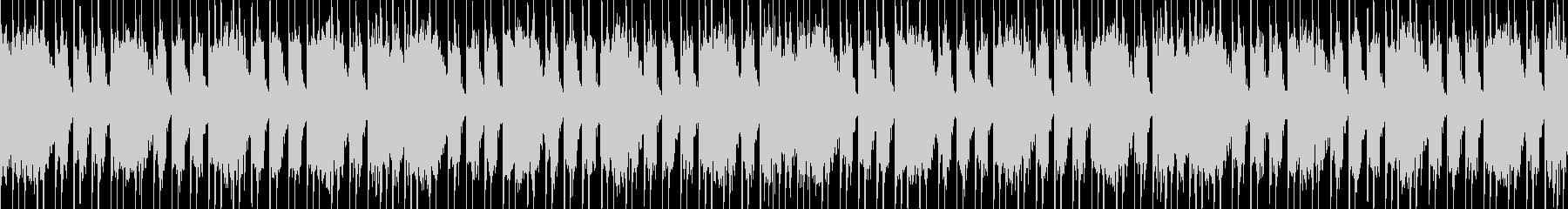 コアメタル風のヘヴィーLOOP BGMの未再生の波形