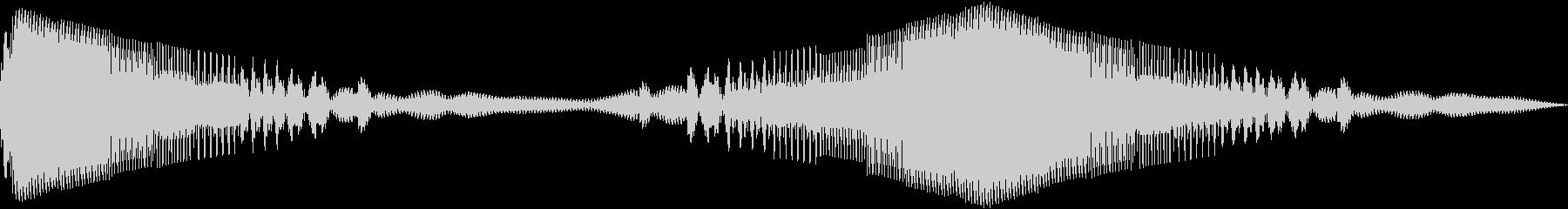 ランダム合成0610 ZGの未再生の波形