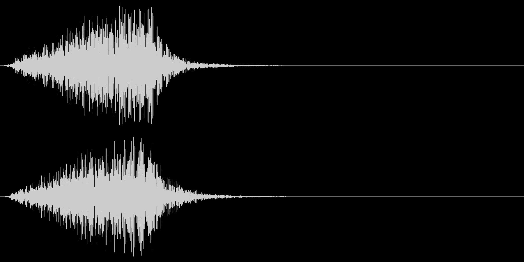 ホラー 近く 接近 恐怖 金属音 07の未再生の波形