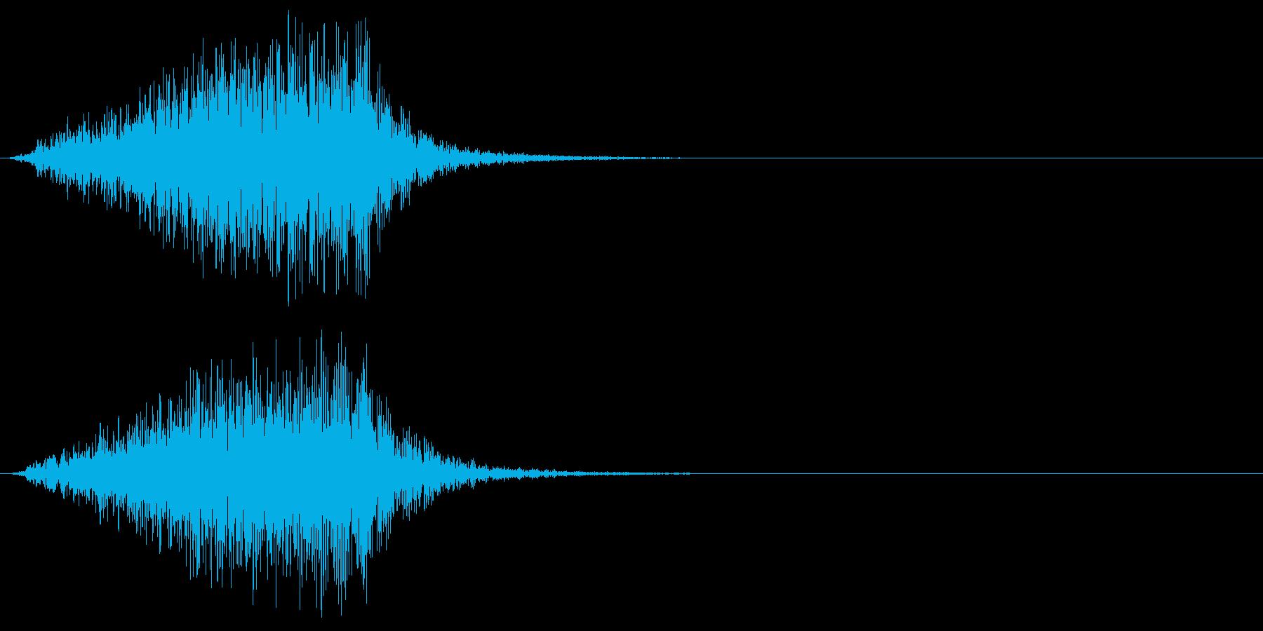 ホラー 近く 接近 恐怖 金属音 07の再生済みの波形
