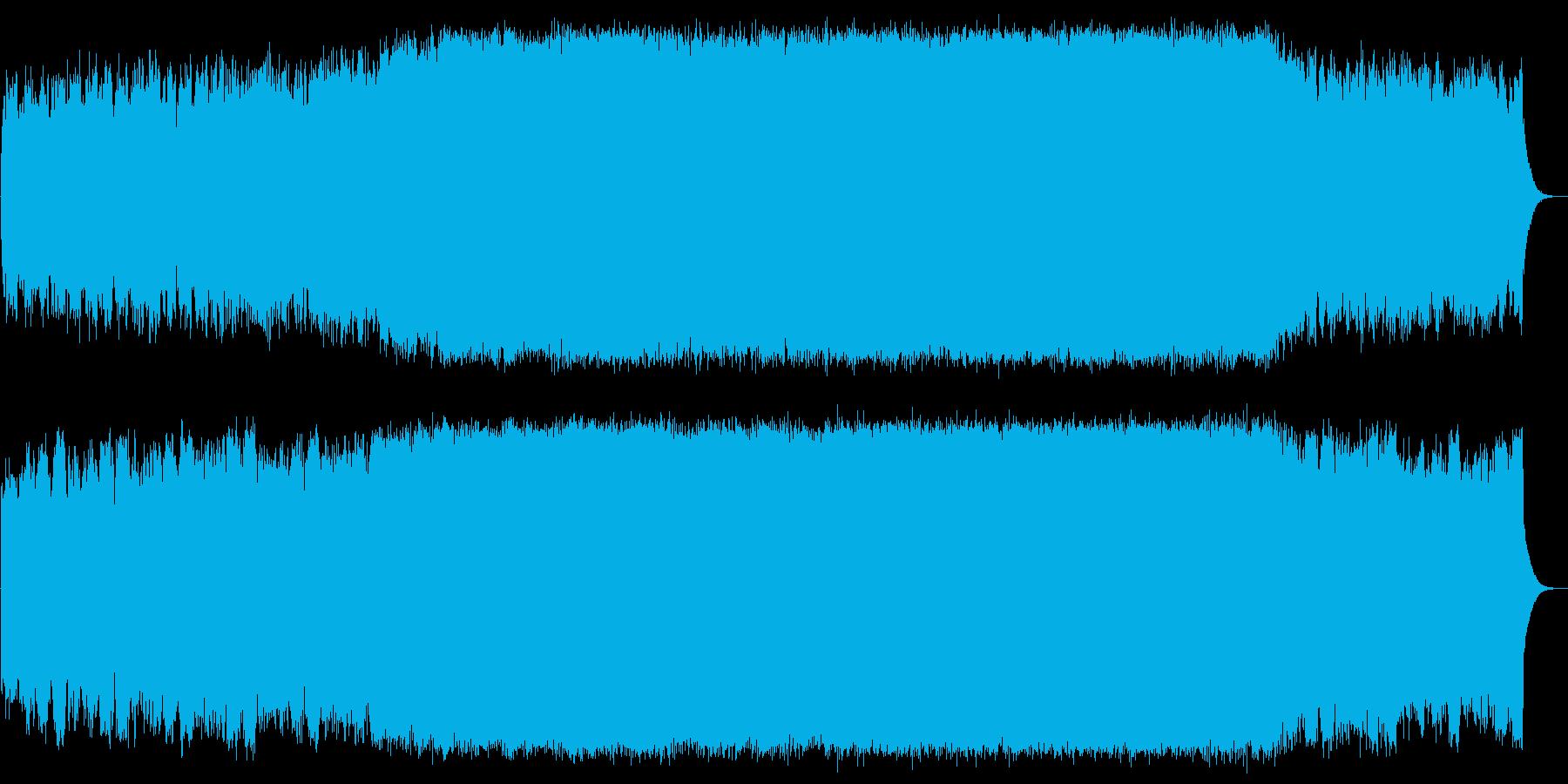 永遠 シンセ 夢 SF 無限 トランスの再生済みの波形
