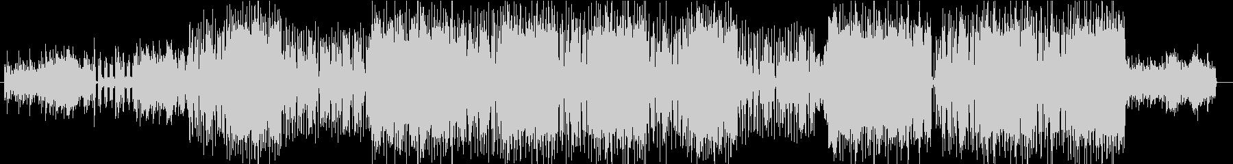 アコースティックギタードラマチックBGMの未再生の波形