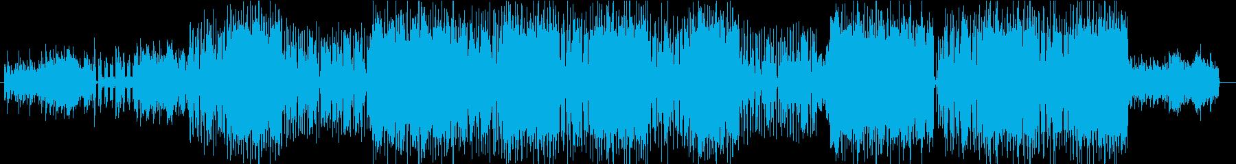 アコースティックギタードラマチックBGMの再生済みの波形