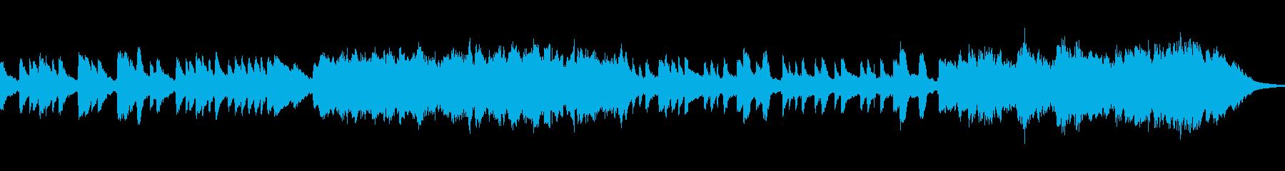 心ほんのりの短編の再生済みの波形