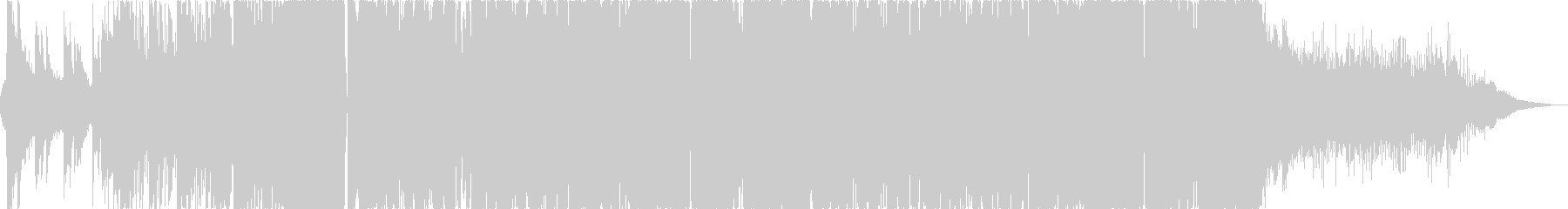【EDM・ダブステップ】綺麗なメロディーの未再生の波形