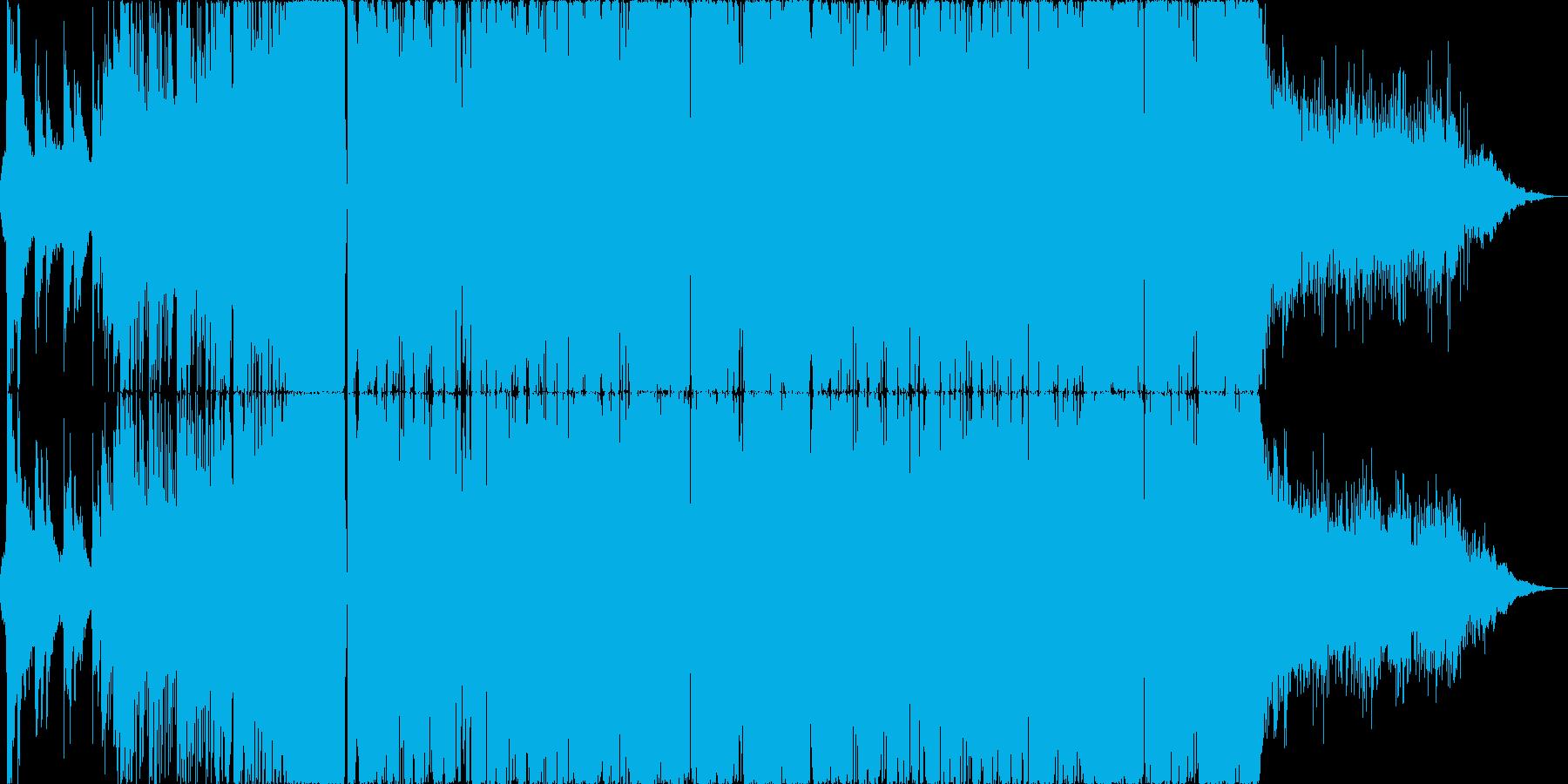 【EDM・ダブステップ】綺麗なメロディーの再生済みの波形