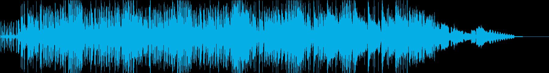 短縮版】チープな雰囲気の尺八和風の再生済みの波形