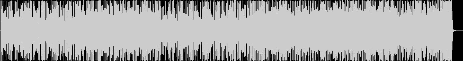 わくわくするような雰囲気のギターインストの未再生の波形