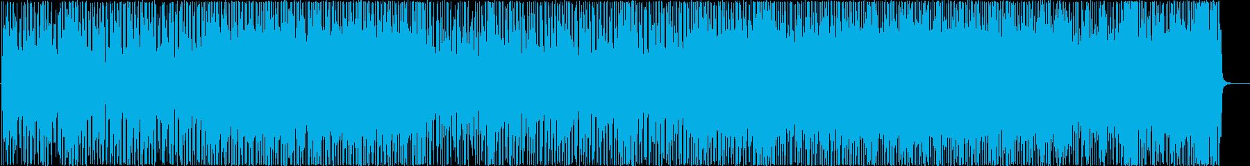 わくわくするような雰囲気のギターインストの再生済みの波形