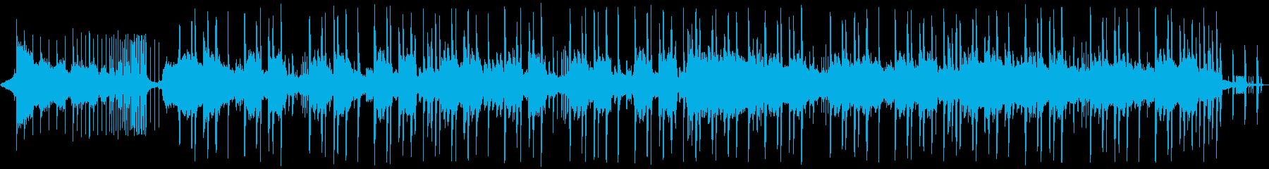 KawaiiFutureBass60秒版の再生済みの波形