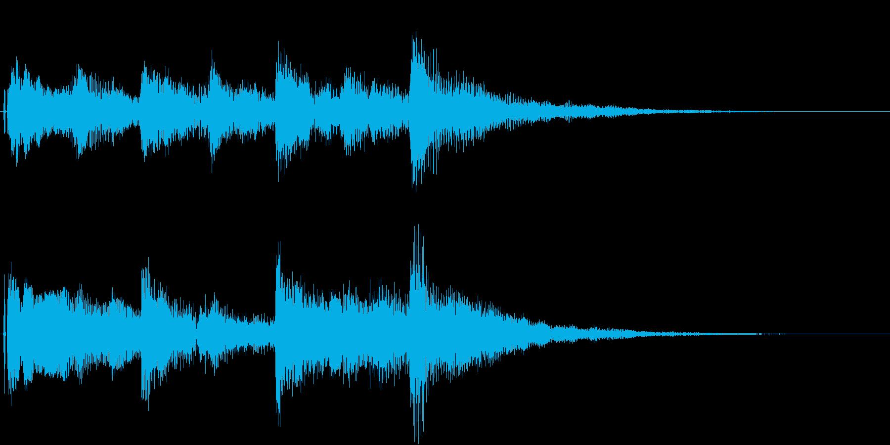 オープニング用ジングル120/ロングの再生済みの波形