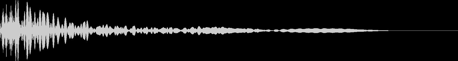 打撃音_その6の未再生の波形