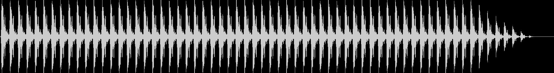 クリスマスの鈴の未再生の波形