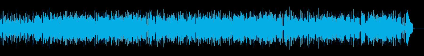 ブルージーで哀愁のあるフォークロックの再生済みの波形