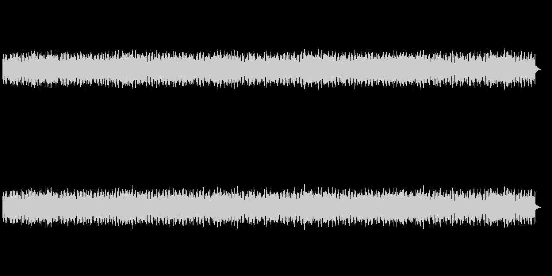 近未来的で神秘的なSFサウンドの未再生の波形