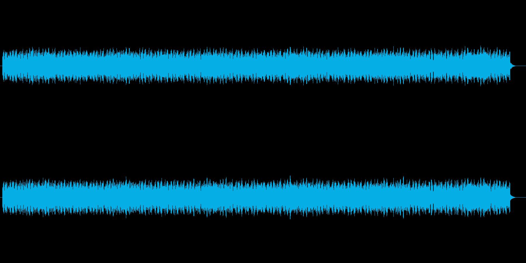 近未来的で神秘的なSFサウンドの再生済みの波形