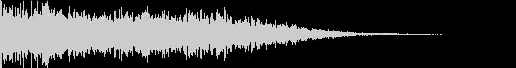 シネマティック・迫力・インパクトbの未再生の波形