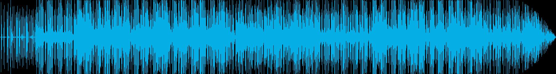 ジャズとファンク。サックスとクール...の再生済みの波形