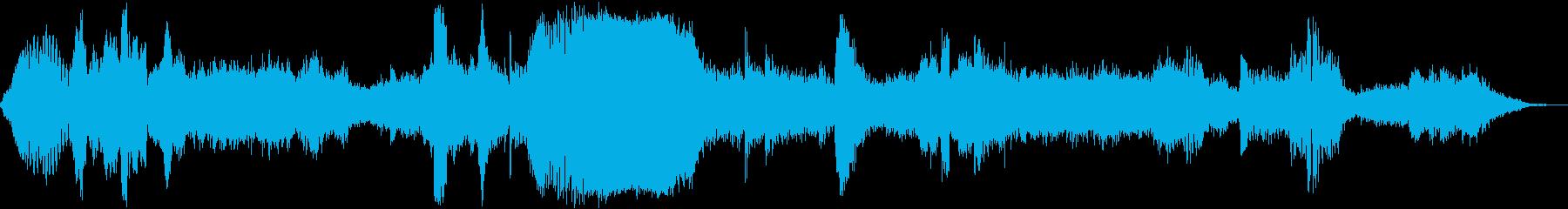 カオティックフィードバックドローン...の再生済みの波形