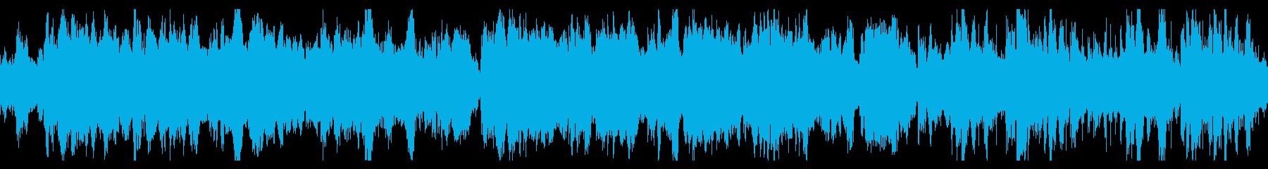 お化け・ダンジョン ホラーBGM/ループの再生済みの波形