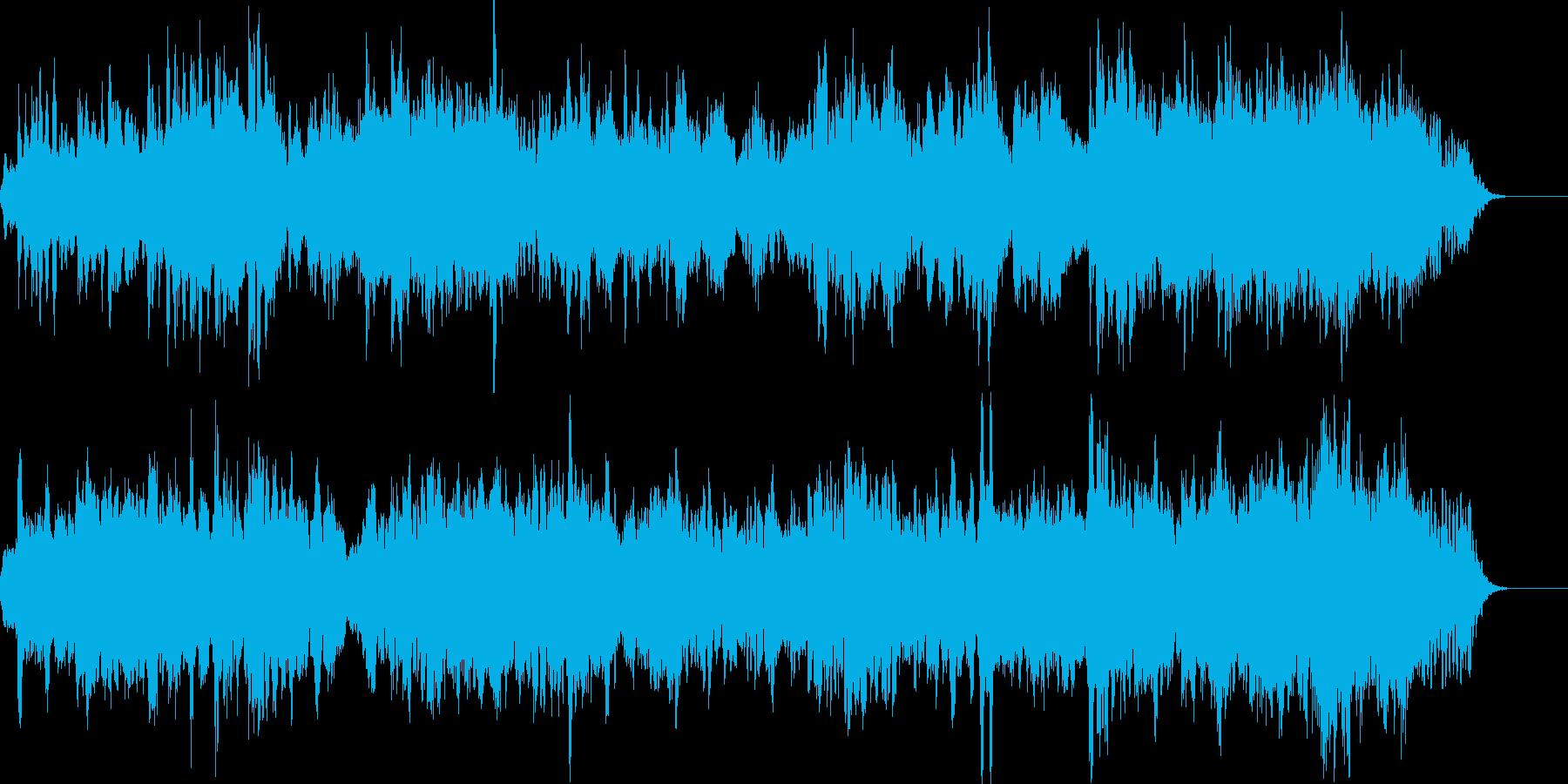 穏やかなピアノアンビエント どこかスペ…の再生済みの波形