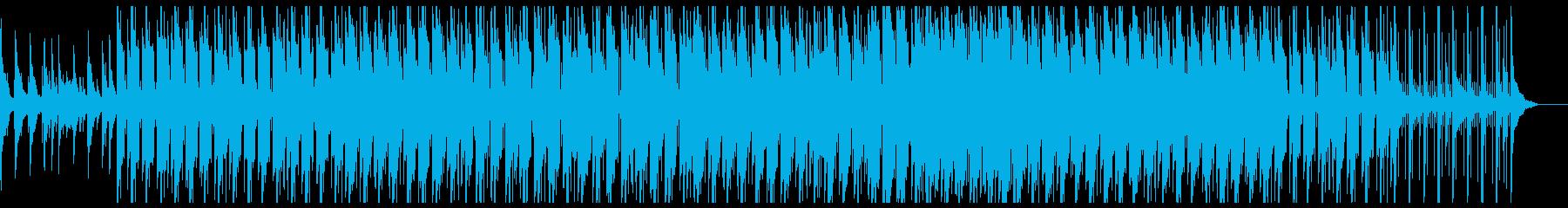 ジャジーなLo-Fi アナログノイズ無しの再生済みの波形