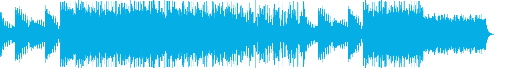 オーディオドラマ向けBGM/サスペンス6の再生済みの波形