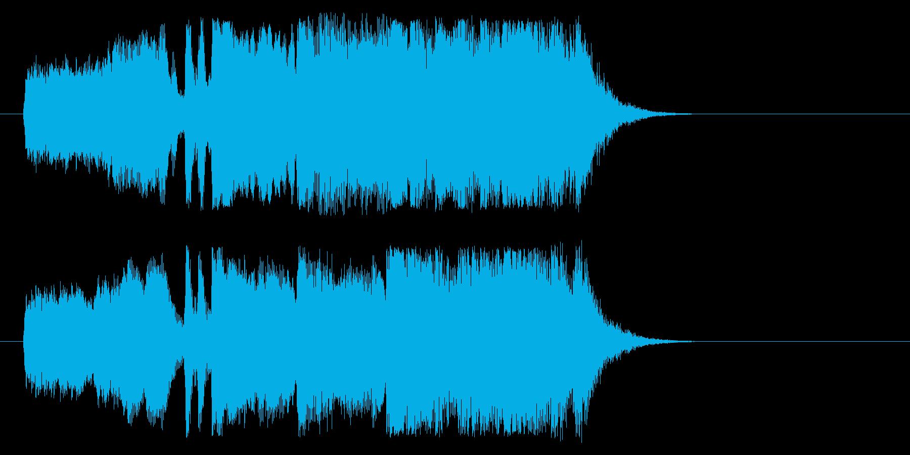 スケール感 格調 荘厳 登場 タイトルの再生済みの波形