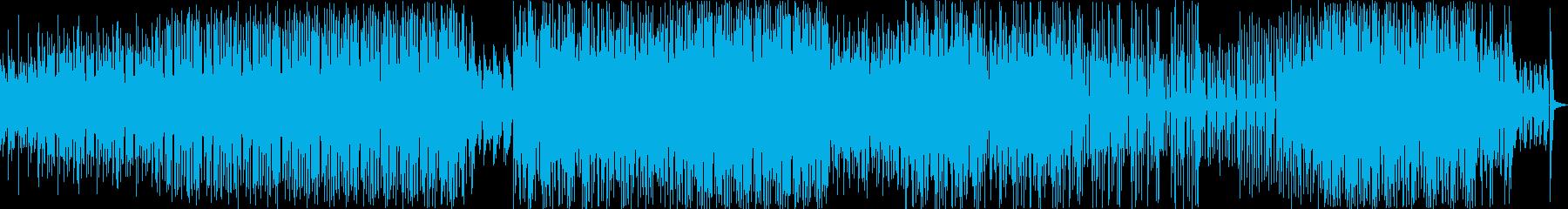 ベースとピアノをループします。追跡...の再生済みの波形
