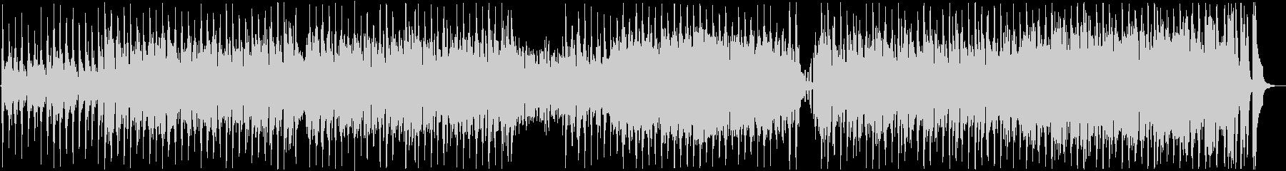 お洒落なボサノバジャズハウスの未再生の波形