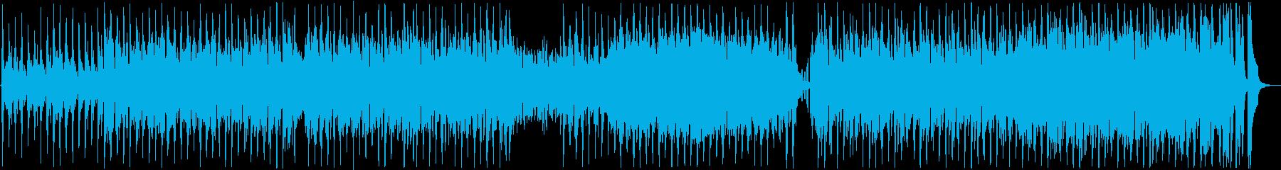 お洒落なボサノバジャズハウスの再生済みの波形
