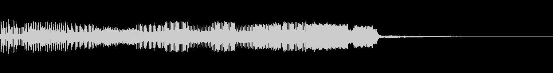 決定音02(電子音)の未再生の波形