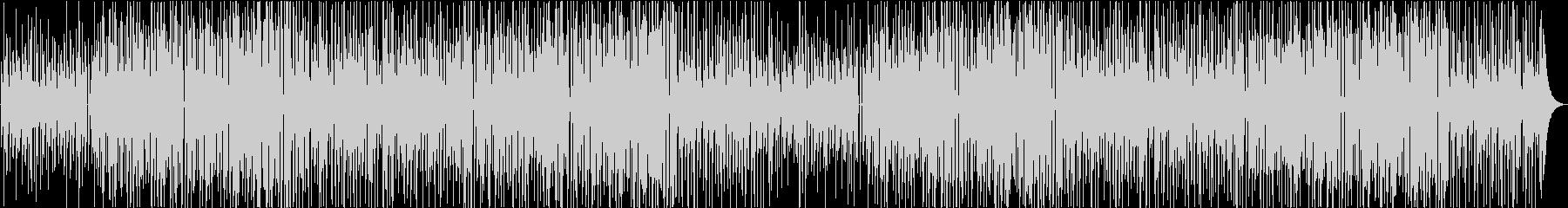 かわいい 明るい 日常系ポップスの未再生の波形