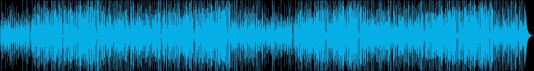 かわいい 明るい 日常系ポップスの再生済みの波形