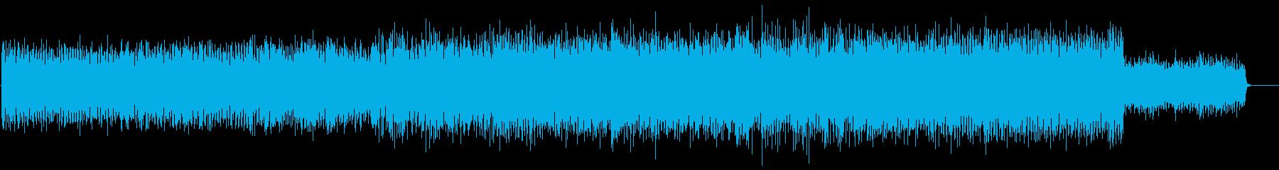 ドキュメンタリー系 渓谷探訪サウンドの再生済みの波形