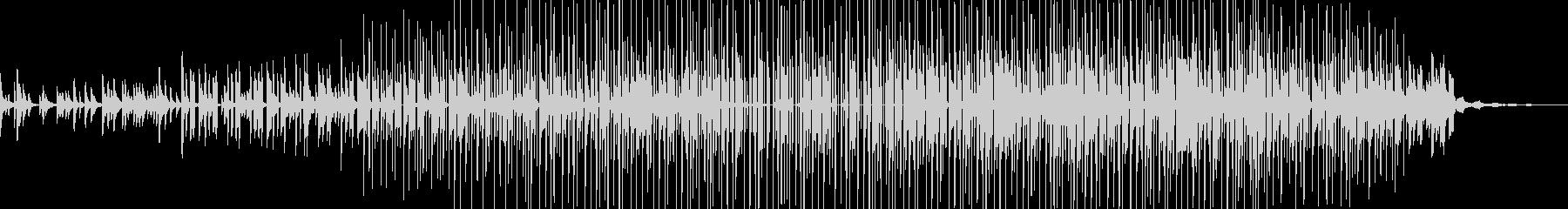 ヒップホップ楽器。暗い「路地裏」溝...の未再生の波形