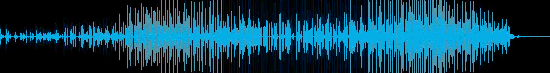ヒップホップ楽器。暗い「路地裏」溝...の再生済みの波形