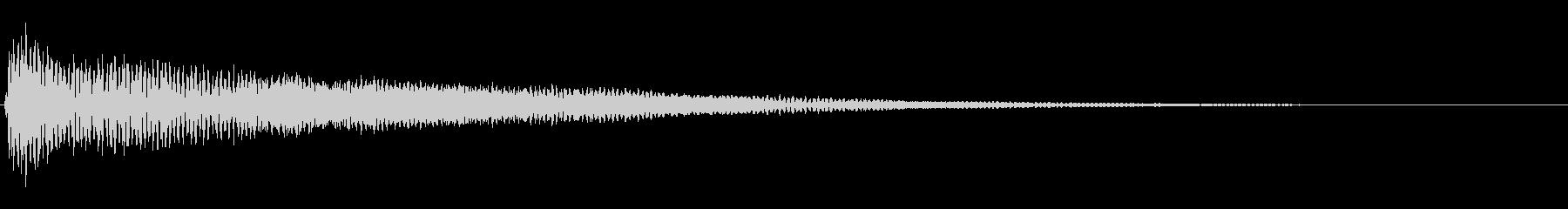 ドキュメンタリーなピアノ_エコーAの未再生の波形